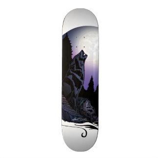 Howling Wolf Skate Board Deck