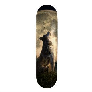 Howling Wolf Skateboard Deck