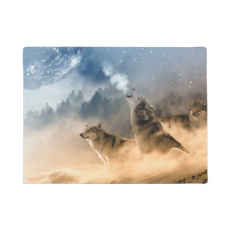Howling Wolfes Doormat