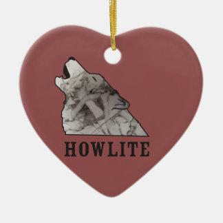 howlite.ai ceramic heart ornament