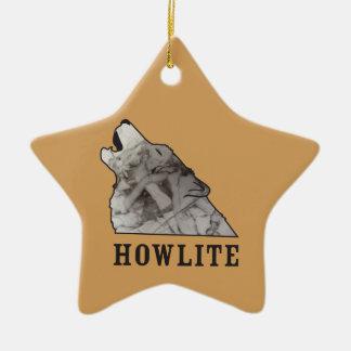 howlite.ai ceramic star ornament