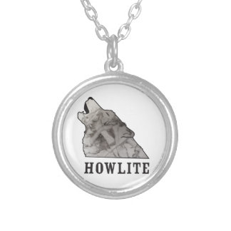 howlite.ai silver plated necklace