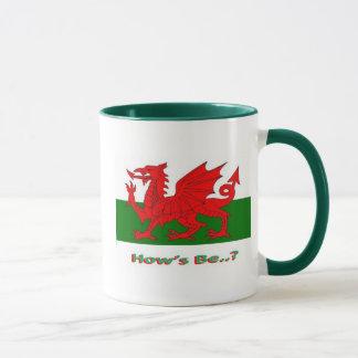 hows be, welsh mug