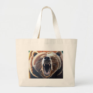How's My Breath? Large Tote Bag