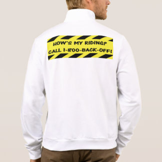 """""""How's my riding?"""" cycling jackets for men"""
