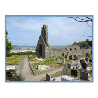Howth Church Ruins Postcard