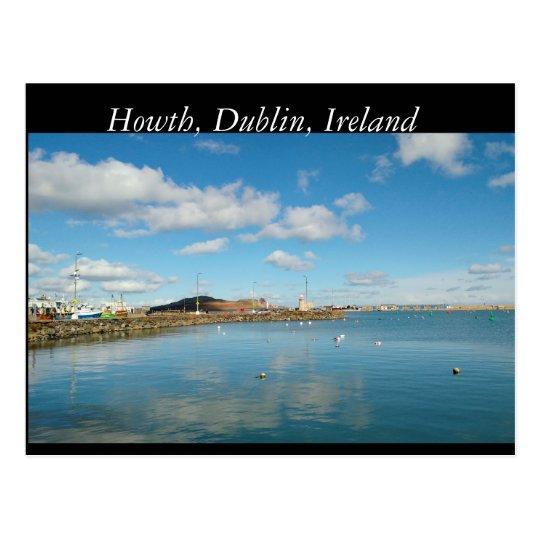 Howth, Dublin, Ireland Postcard