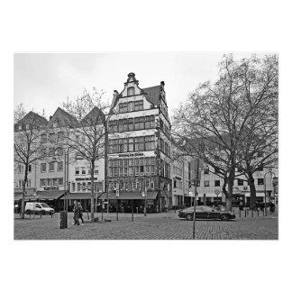 Hoymarkt square in Cologne Photo Print