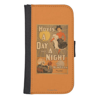 Hoyt's A day and a night in New York City Play Galaxy S4 Wallet Cases