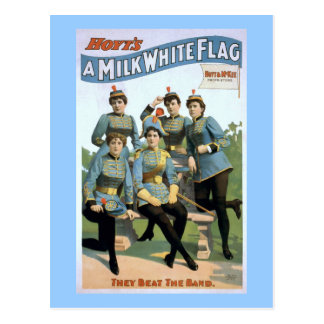 Hoyt's A Milk White Flag Vintage Theater Poster Postcard