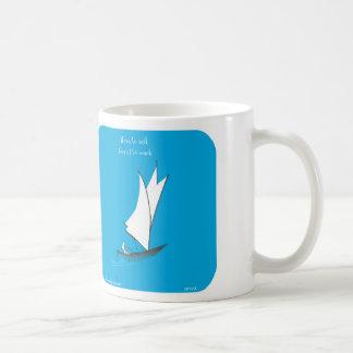 "HP1115 ""harold's Planet"" born to sail work Coffee Mug"