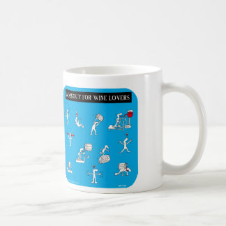 "HP1736, ""Harold's Planet"", ""workout for wine lover Coffee Mug"