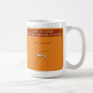 """HP5066 """"Harold's Planet"""" """"Stress at Work"""" Coffee Mug"""