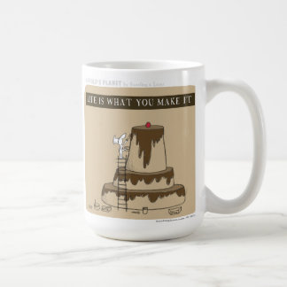 "HP5083 ""Harold's Planet"" ""Life is what you make"" Coffee Mug"