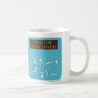 """HP5089 """"Yoga for Coffee Lovers """"Harold's Planet"""" Coffee Mug"""