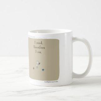 "HP5096 ""harold's planet"" ""I read therefore I am"" Coffee Mug"
