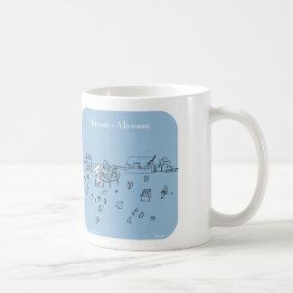 "HP5139, ""Harold's Planet"", messiness, aliveiness, Coffee Mug"