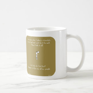 "HP5151, ""Harold's planet"" chocolate, head, melt, l Coffee Mug"