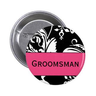 HP&B Groomsman Button