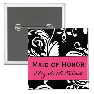 HP&B Maid of Honor Square Button