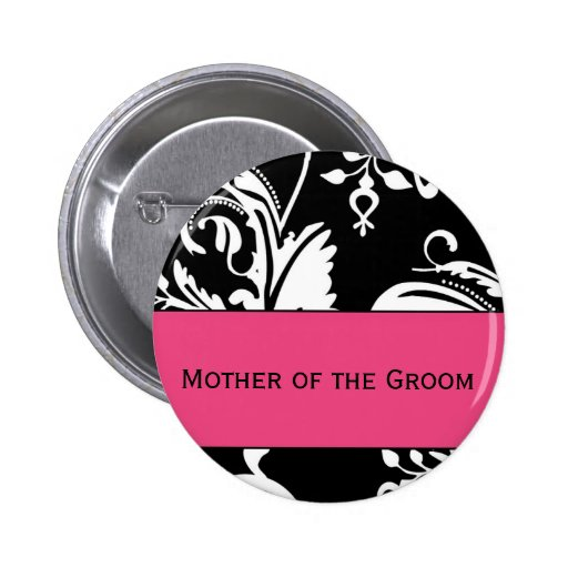 HP&B Mother of the Groom Button
