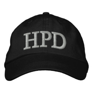 HPD EMBROIDERED HAT