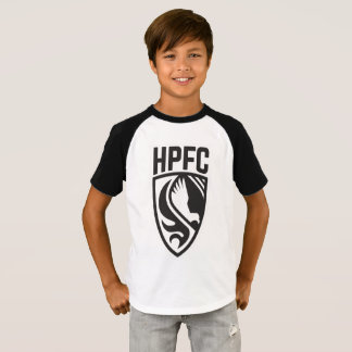 HPFC Black & White Kids Tee