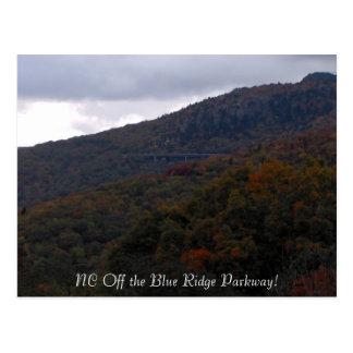 HPIM0118, NC Off the Blue Ridge Parkway! Postcard