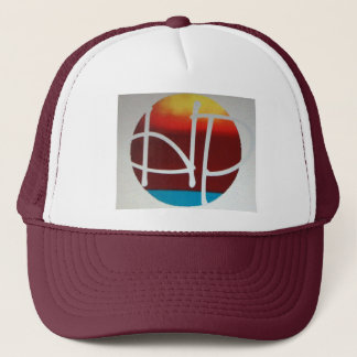 hPOSCH Sunset Logo hat (burgundy)