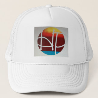 hPOSCH Sunset Logo hat (white)