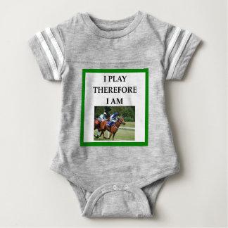 hprse racing baby bodysuit