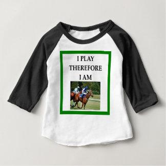 hprse racing baby T-Shirt