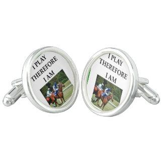 hprse racing cufflinks
