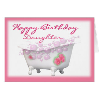 HpyBdayDaughter-customize-any occasion Card