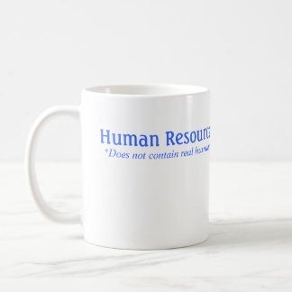 HR does not contain real humans Coffee Mug