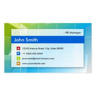 HR Manager - Modern Multipurpose Pack Of Standard Business Cards