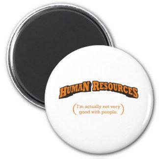 HR / People 2 Inch Round Magnet
