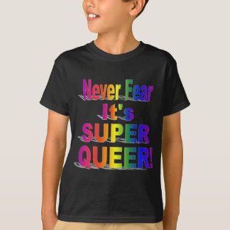 HR Super Queer - Gay.png T-Shirt