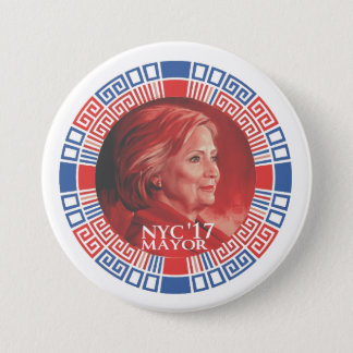 HRC for NYC 2017 3 Inch Round Button