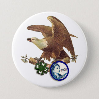 HRC for USA 3 Inch Round Button