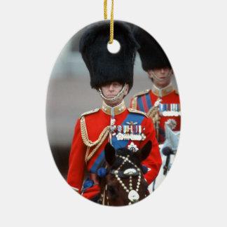HRH Duke of Edinburgh Ceramic Oval Ornament