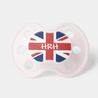 'HRH' Her Royal Highness Baby Pacifier