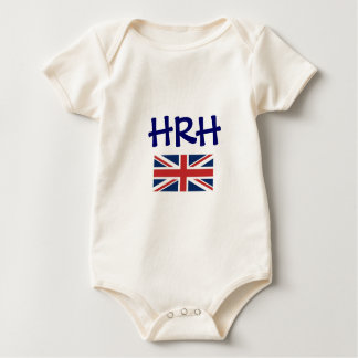 'HRH' His or Her Royal Highness Rompers