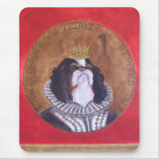HRH King Charles, Cavalier Spaniel Mousepad