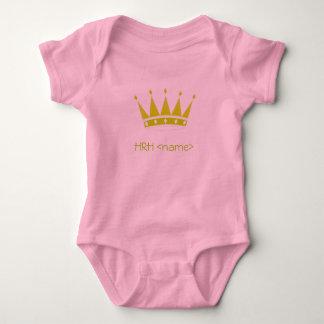 HRH princess Baby Bodysuit