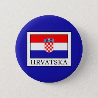 Hrvatska 2 Inch Round Button