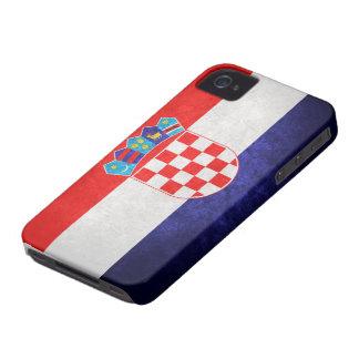 Hrvatska; Croatia Flag iPhone 4 Case-Mate Cases