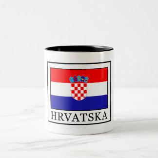 Hrvatska Two-Tone Coffee Mug
