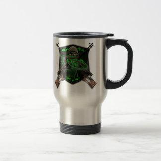 [HS]-logo, Kill or be Killed! Stainless Steel Travel Mug
