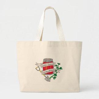 HSHG-Logo-01 Large Tote Bag